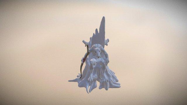 Rat King Pose 3D Model