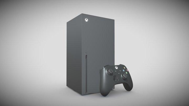 Xbox Series X 3D Model