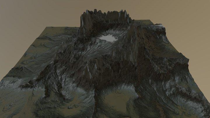Volcano_v03 3D Model