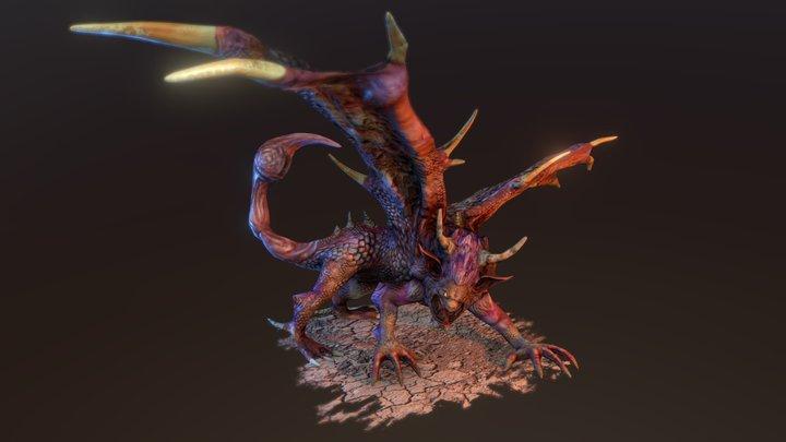 Manticore 3D Model