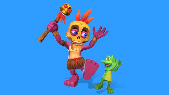 Mumbo Jumbo Remake 3D Model