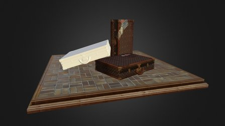 LOUIS VUITTON CASE 3D Model