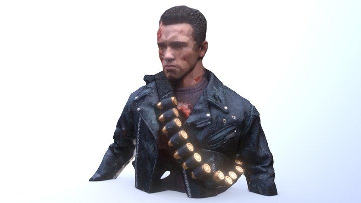 Terminator Hottoys 1/6 3D Model