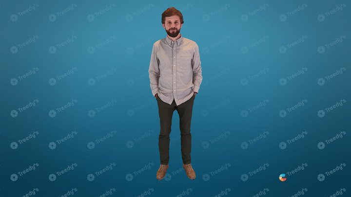 Louis from Sketchfab 1 3D Model
