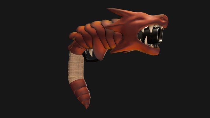 DragonGun 3D Model