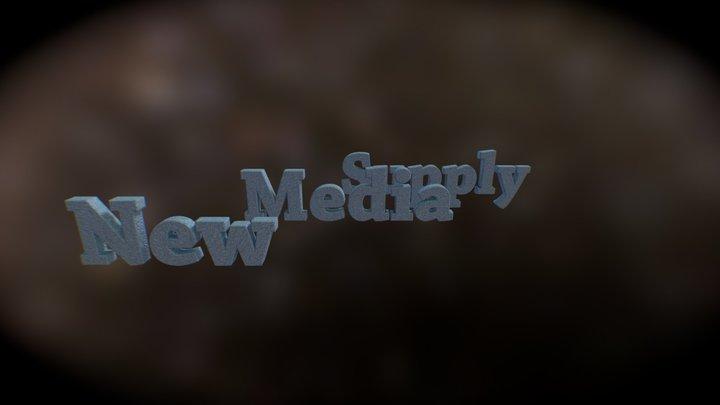 New Media Supply 3D Model