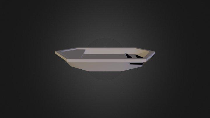 Starter Ship 3D Model