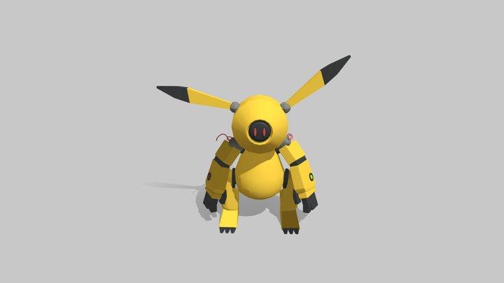 Pikachu 3D Model