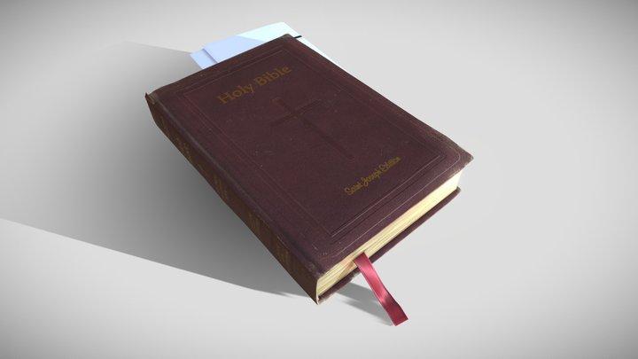 St Joseph New Catholic Bible 3D Model