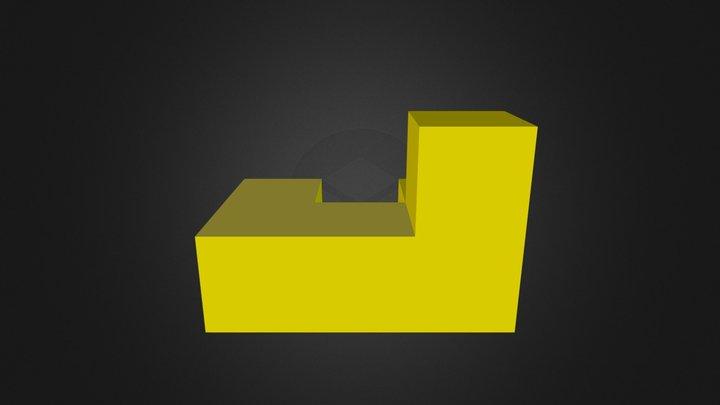 Puzzle cube part 3 3D Model