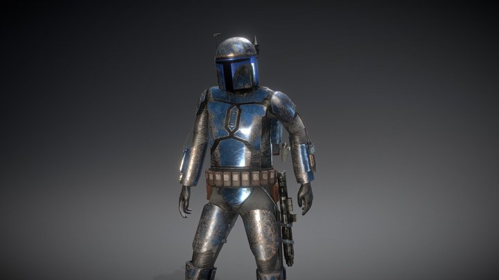 Mandalorian - Star Wars 3D Model