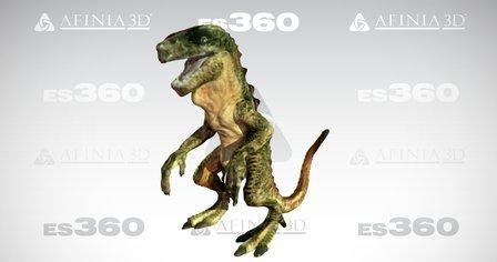 Toy Dinosaur, by Afinia ES360 3D Scanner 3D Model