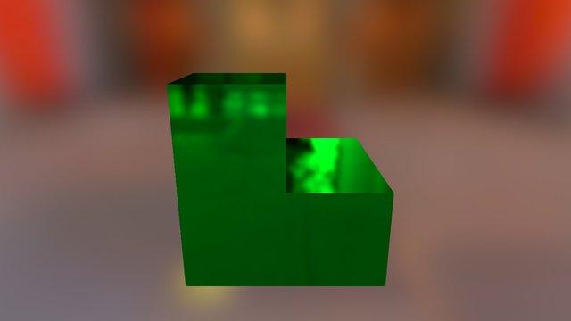 Green Embed 3D Model