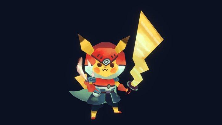 Pikachu Power ⚡️ 3D Model