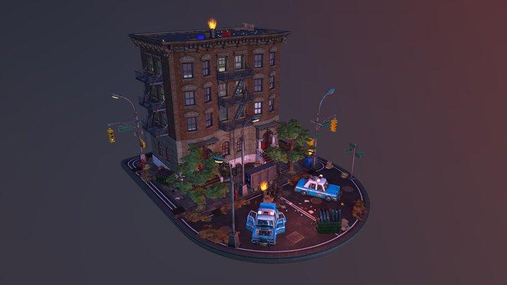 Critter Junction, NYC. 3D Model