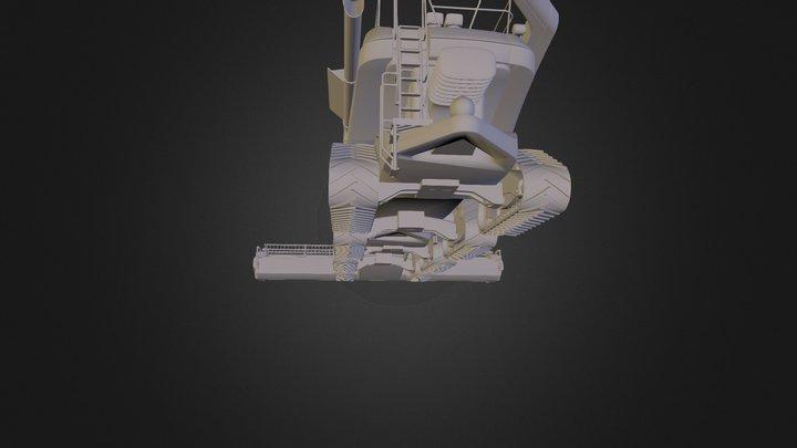 Drescher 3D Model