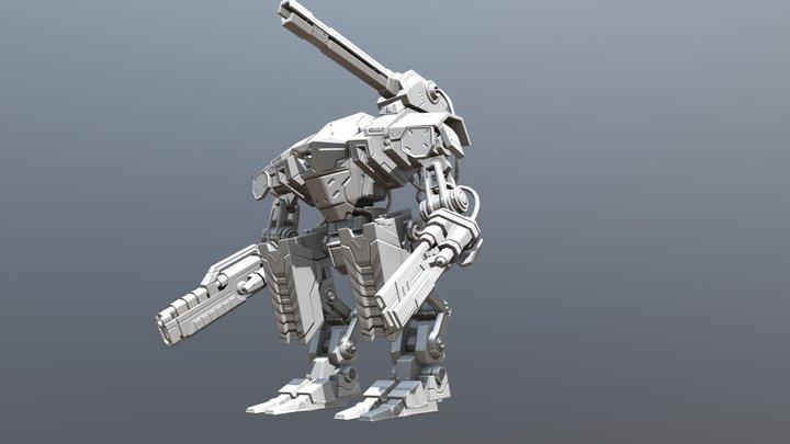 Warbot_BAKE 3D Model