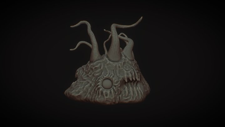 Abhoth - Another Lovecraftian Speed sculpt. 3D Model