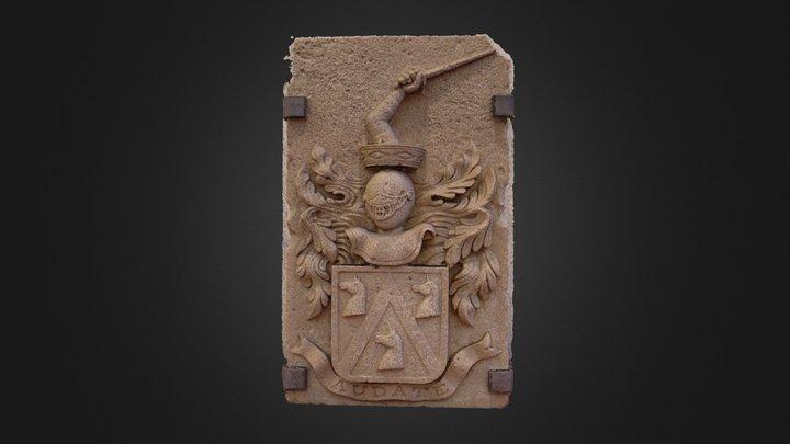 Escudo de la familia Shelly 3D Model