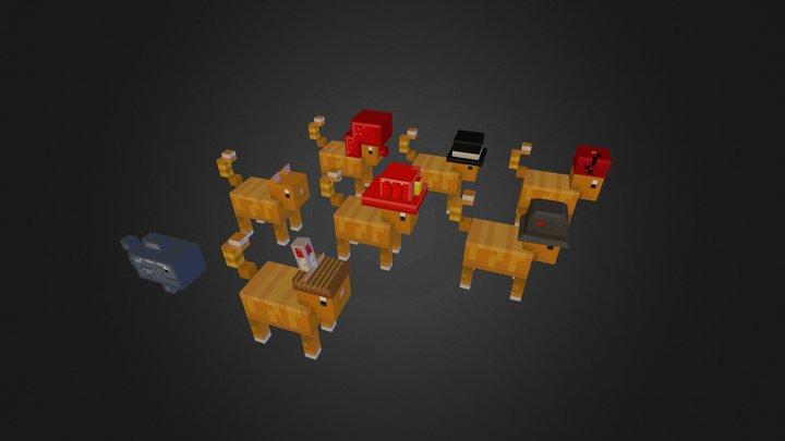 Fuck yeah, CATS! 3D Model