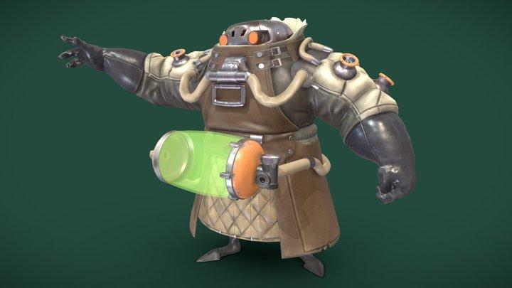 Tooth Wu: Rat 3D Model