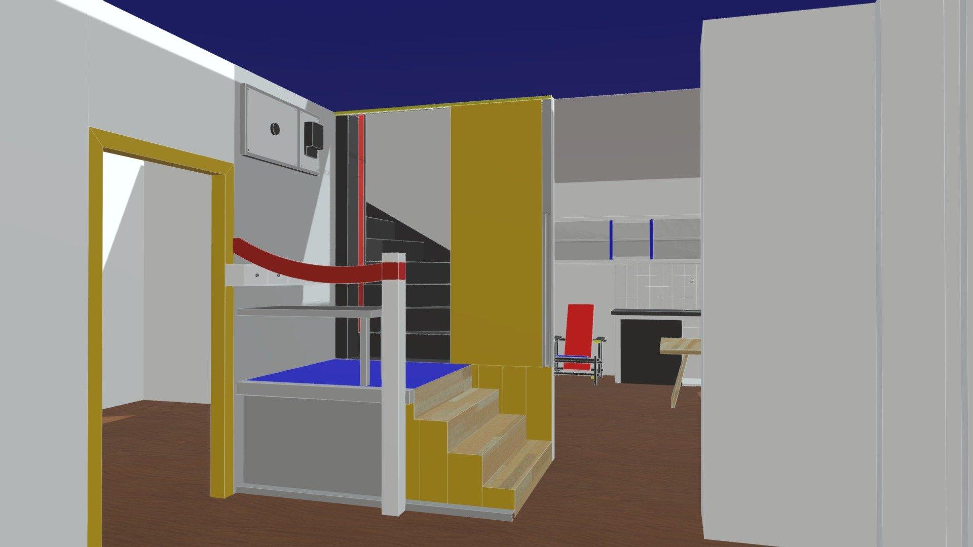 Schroder House Download Free 3D model by Kyle Linhardt