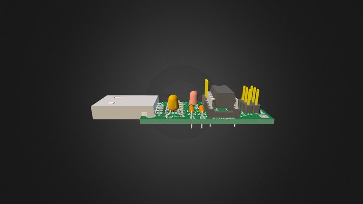 Little-Wire-DIP 3D Model