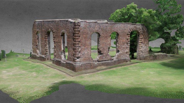 American Ruins: Biggin Church 3D Model