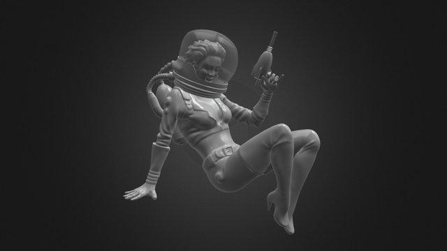 Thirst Zapper Girl 3D Model