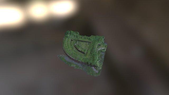 Fort Macomb (New Orleans, Louisiana, USA) 3D Model