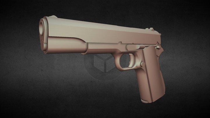 Game Ready - Colt 1911 - FPS 3D Model