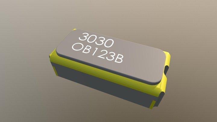 EPSON SG-3030CM CRYSTAL OSCILLATOR (SPXO) 3D Model