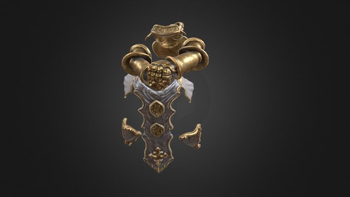 kamiel_armor_test 3D Model