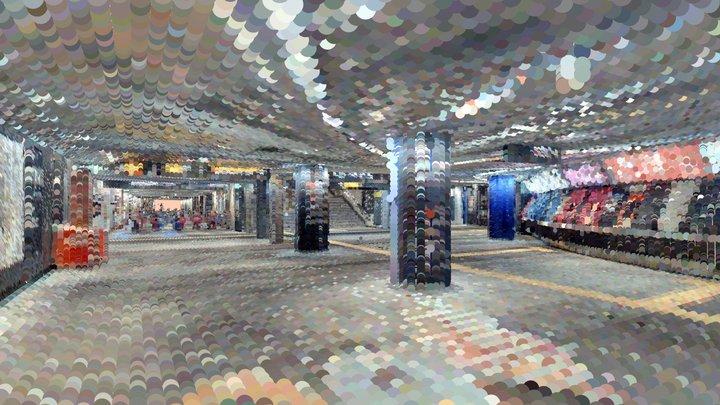 Shibuya Station Underground 3D Model