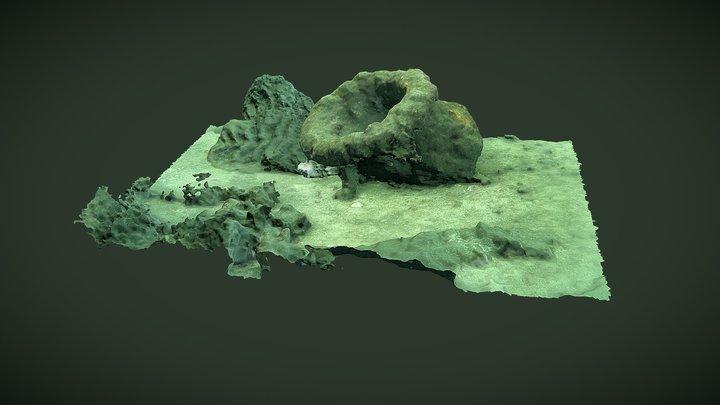 Robert Kerr wreck - hawsehole 3D Model