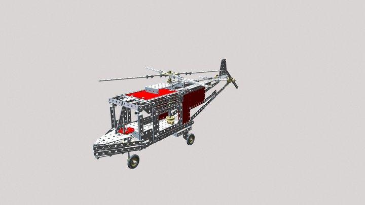 Hubschrauber Agusta A 109 3D Model