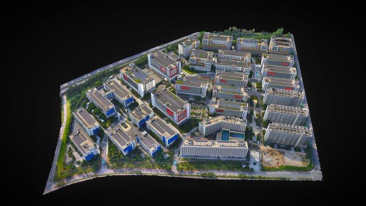 广州企业加速孵化器 3D Model