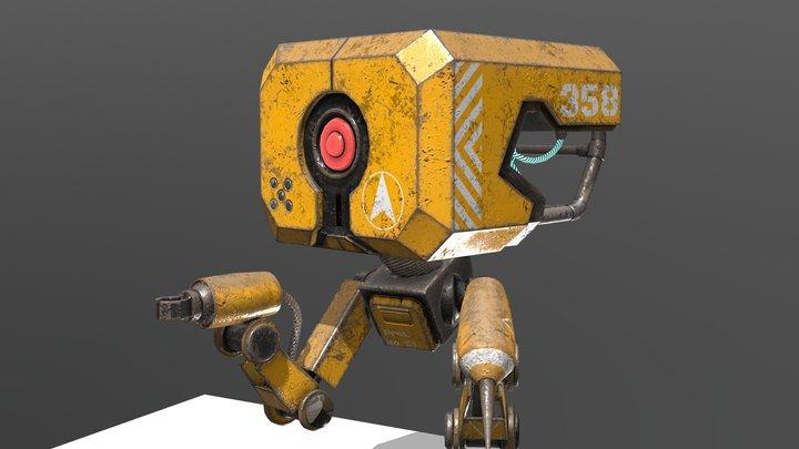 Small Robot 3D Model