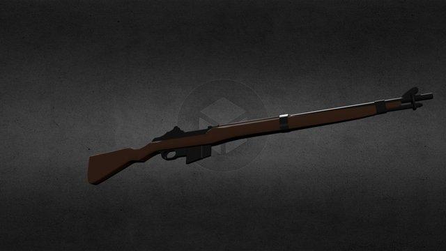 R36 Semi-Automatic Rifle 3D Model
