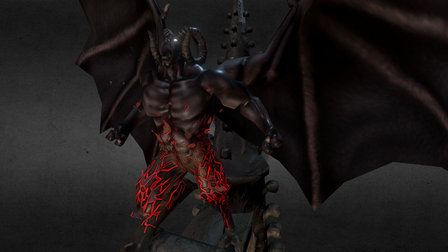 Gargoyle 3D Model