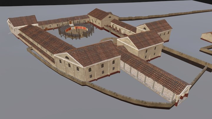 School of Gladiators - Carnuntum 3D Model