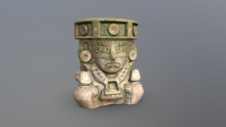 Aztec Brazier 3D Model