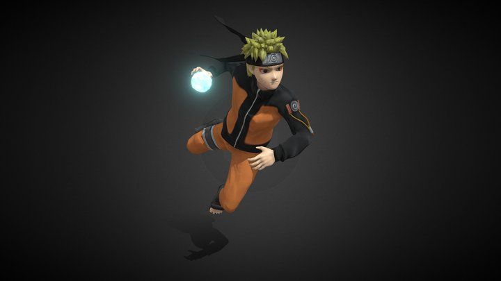 Naruto Uzumaki 3D Model