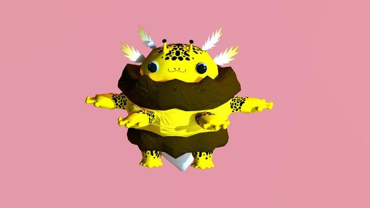 Axl the Bumblotl 3D Model