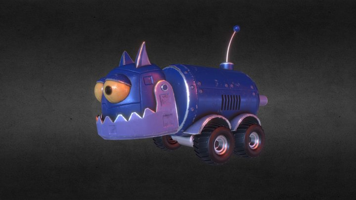 Robot Cat (Inspierd by tom and Jerry) 3D Model