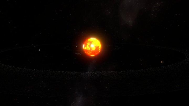Sistema Solar Animado (Animated Solar System) 3D Model