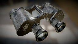 Zeiss6x30 Binoculars - GameAsset 3D Model