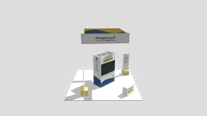 RSA 2020  -White 3D Model