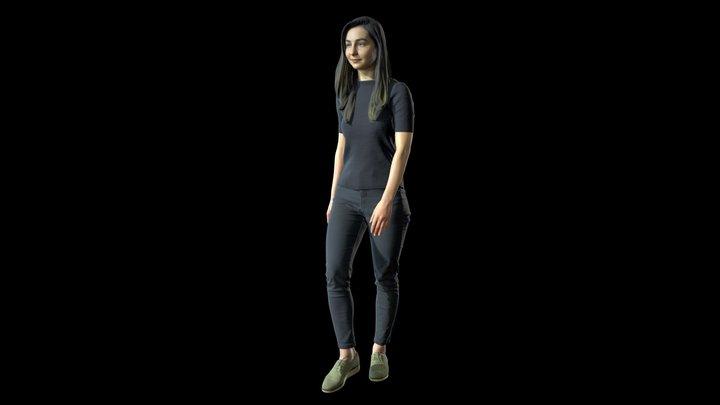 3d scan woman 8 3D Model