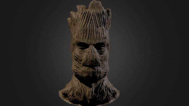 Groot sculpt 3D Model
